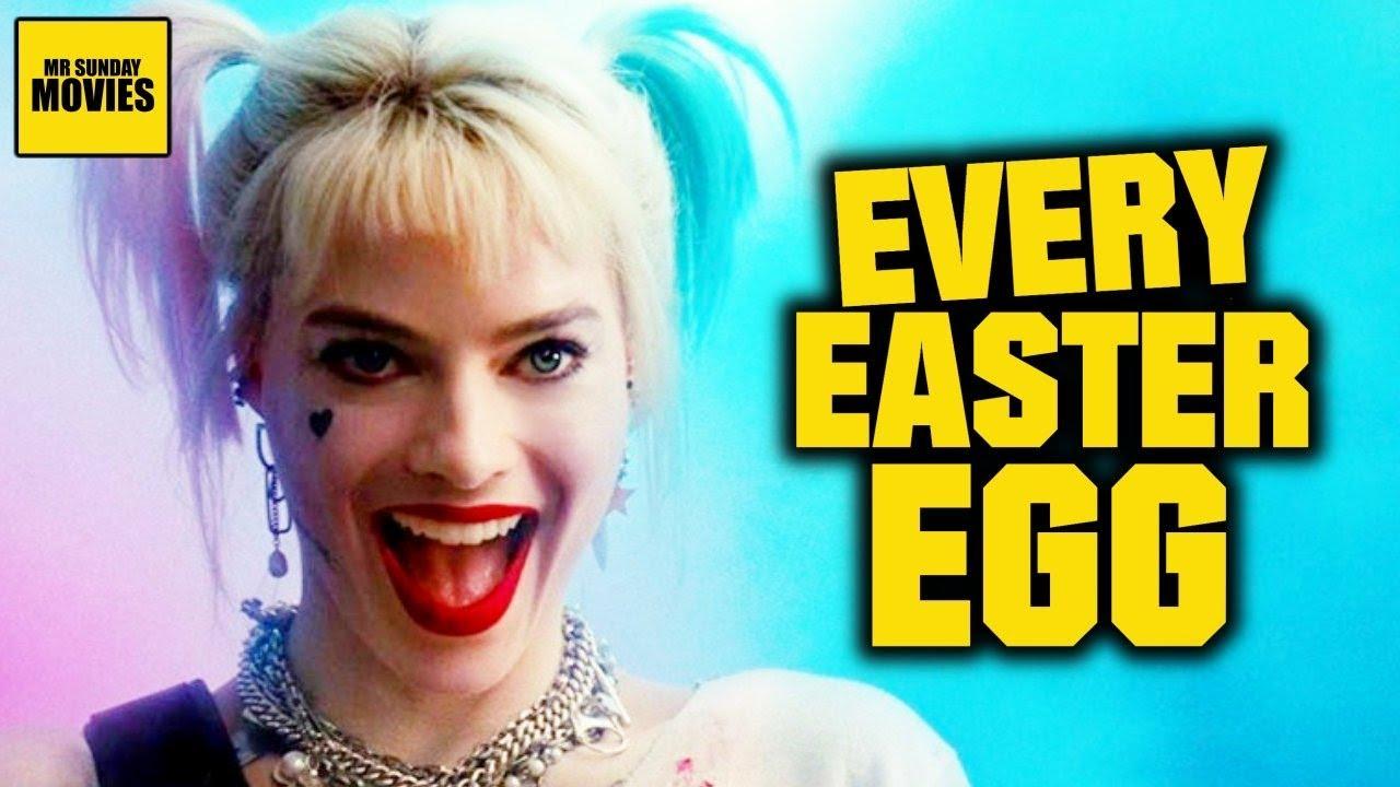 All Easter Eggs Cameos In Birds Of Prey Youtube
