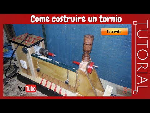 Come costruire un semplice tornio fai da te - Costruire un portabottiglie in legno ...