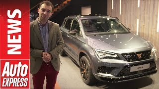 Фото с обложки Cupra Ateca Suv Revealed In Geneva With 296bhp - It'S Not A Seat!