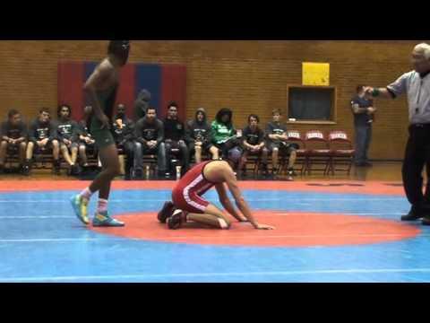 Granger High School Wrestling vs Hillcrest High School 126 Pounds 11-12