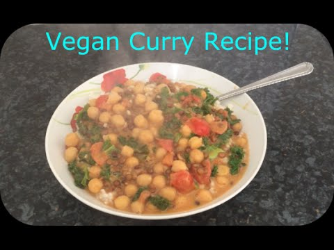 Chickpea and Lentil Curry – VEGAN and DELICIOUS!