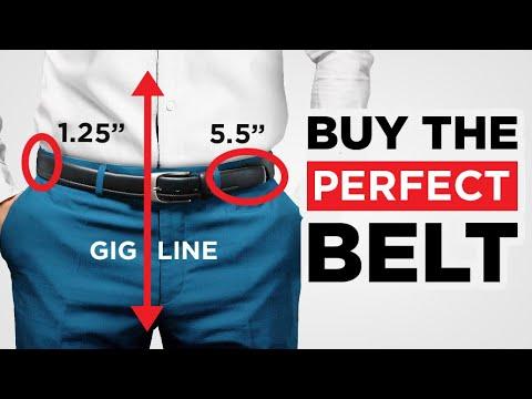 How To Buy The PERFECT Belt (Belt Size, Belt Type, Belt Matching)