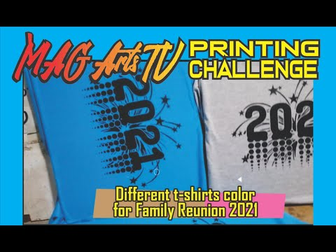 WELCOME 2021 T=SHIRTS for FAMILY REUNION   /  MAG Arts TV