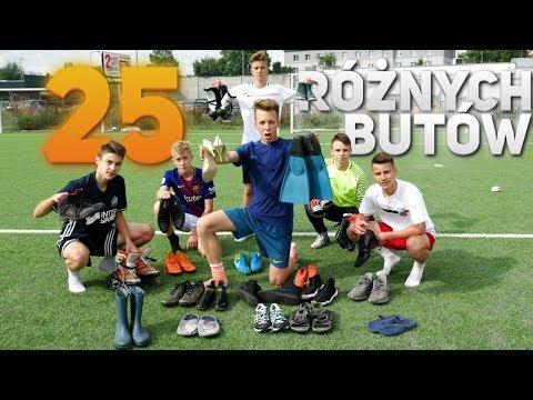 RZUTY KARNE 25 RÓŻNYMI BUTAMI!! | PNTCMZ