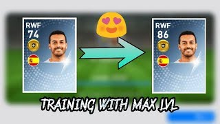 What Happens When You Train With Max Lvl Player || PES 19 Mobile ||