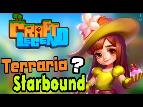 RPG в Стиле Terraria и Starbound | Craft Legend | Игра - Песочница [ПЕРВЫЙ ВЗГЛЯД] Android
