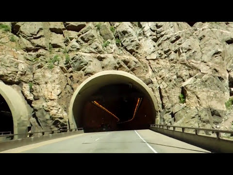 Colorado Tunnels along Interstate 70 Eastbound