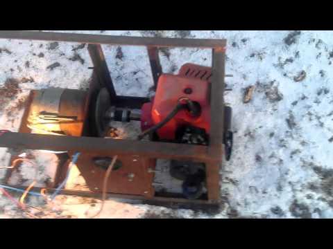 видео: самодельный мини генератор 12 вольт