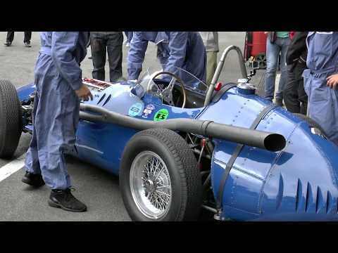 "Maserati 250F, 250F T3 ""Piccolo"" Warmup/Race at Spa/Zandvoort!"