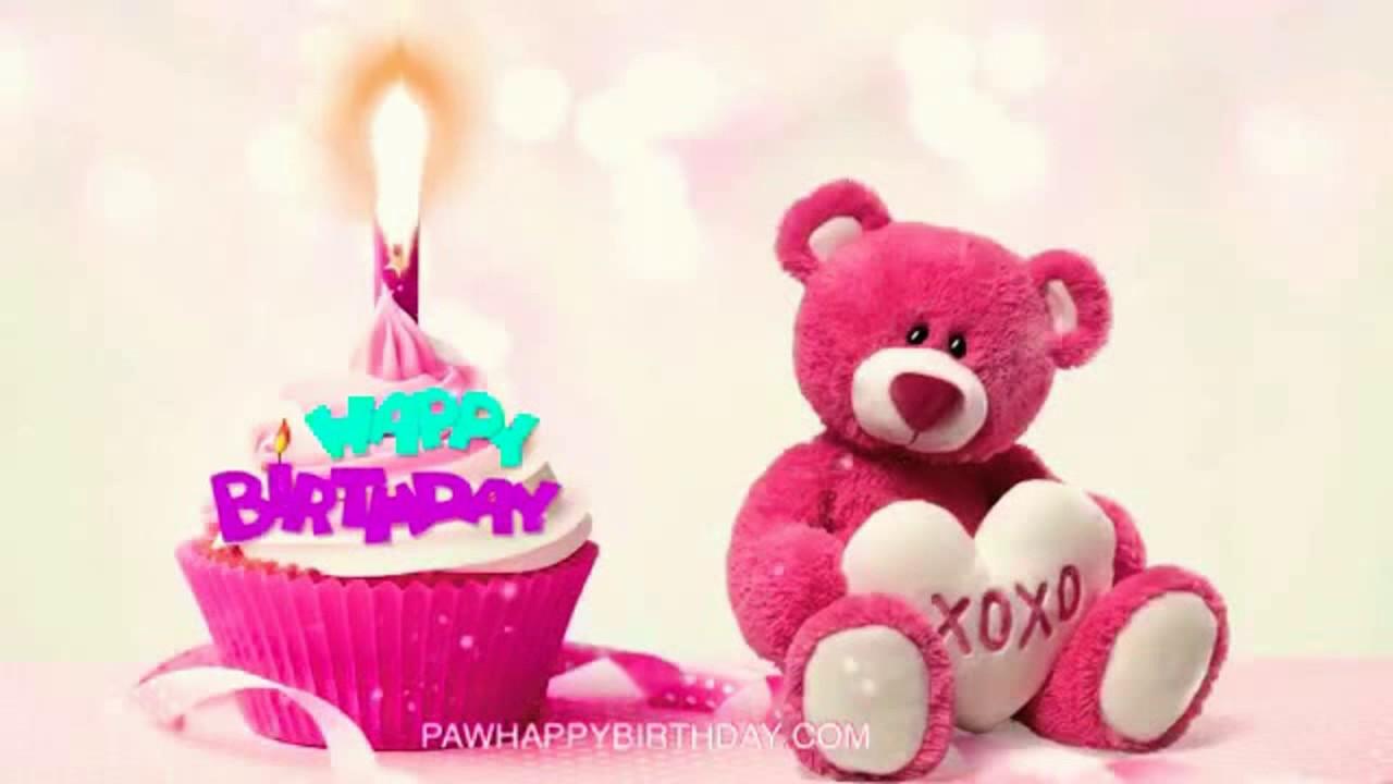 Happy Birthday Teddy Bear - YouTube