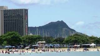 Ala Moana Beach Park Honolulu Hawaii