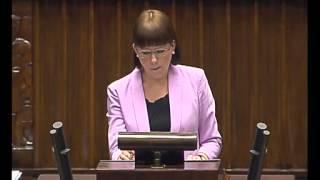 Kaja Godek - wystąpienie z 10 września 2015 r.