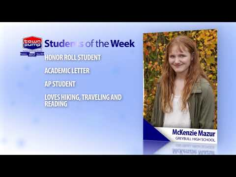 Students of the Week: McKenzie Mazur and Tucker Nelson of Greybull High School