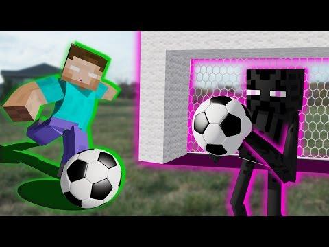 Monster School: Soccer Part 2 - Minecraft Animation