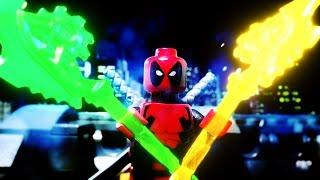 Lego Deadpool vs Green Lantern