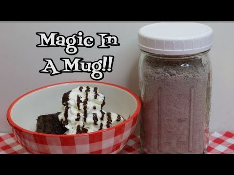 Bulk Mug Cake Mix ~ ❤️ Valentine Gift In A Jar ❤️ ~ Easy Dessert ~  Noreen's Kitchen