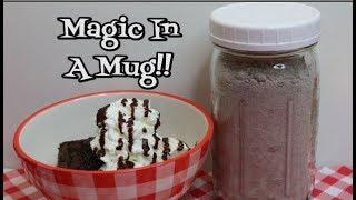 Bulk Mug Cake Mix ~ ❤️ Valentine Gift in a Jar ❤️ ~ Easy Dessert ~  Noreen's Kitchen