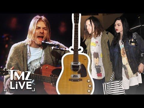Kurt Cobain: Daughter Loses Famous Guitar  TMZ Live