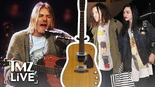 Kurt Cobain: Daughter Loses Famous Guitar | TMZ Live
