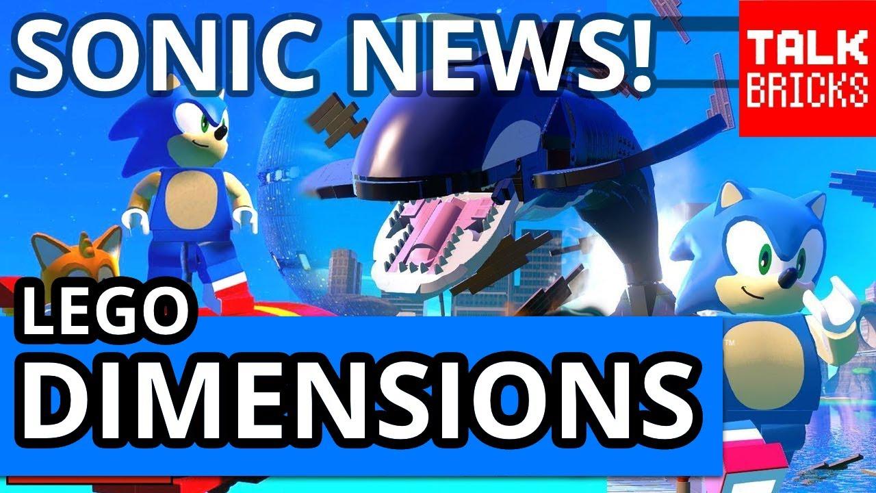 LEGO Dimensions Sonic News Roundup & Breakdown! Intro ...