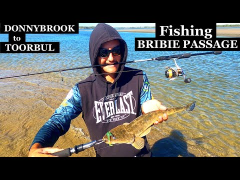 Fishing Bribie Passage, Toorbul To Donnybrook, Maps And Spots