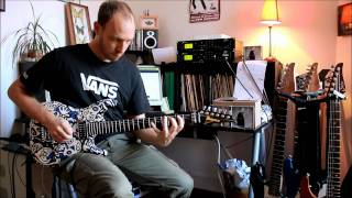 Legato Licks with Ibanez JS 3 Donnie Hunt, for fun !!