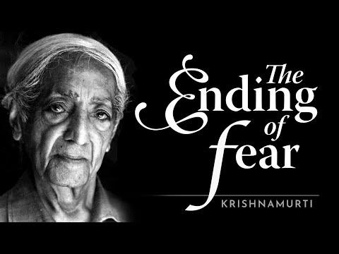 Krishnamurti - The Ending of Fear