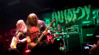AUTOPSY Arch Cadaver (New!) Live at The Oakland Metro Oakland CA 5.26.2013
