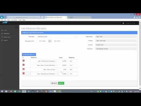 Dealer Staff - Edit an existing employee assessment