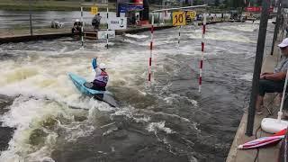 Соревнования по водному слалому Кубок группы ČEZ Отбор в олимпийскую сборную Чехии 2020 г