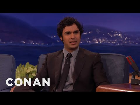 How Kunal Nayyar Lost His Virginity   CONAN on TBS