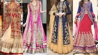 Latest Jacket Bridal Lehenga for weddings, reception, Shadi Party, Mehendi 2018 Part 2