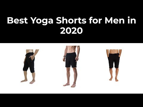 Best Yoga Shorts for Men in 2020