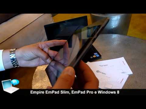 Tablet Empire EmPad Slim, EmPad Pro e Windows 8