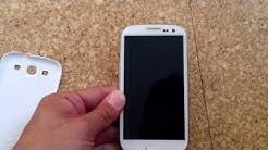 Samsung galaxy S3 startet nicht mehr richtig. HILFE !!