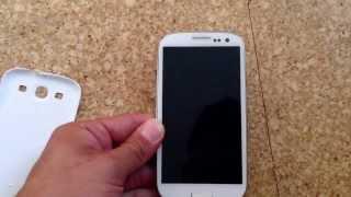 Samsung galaxy S3 startet nicht mehr richtig.. HILFE !!
