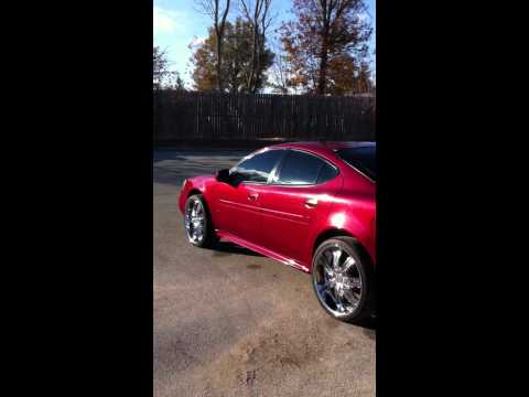 2004 Pontiac grand prix on 22's
