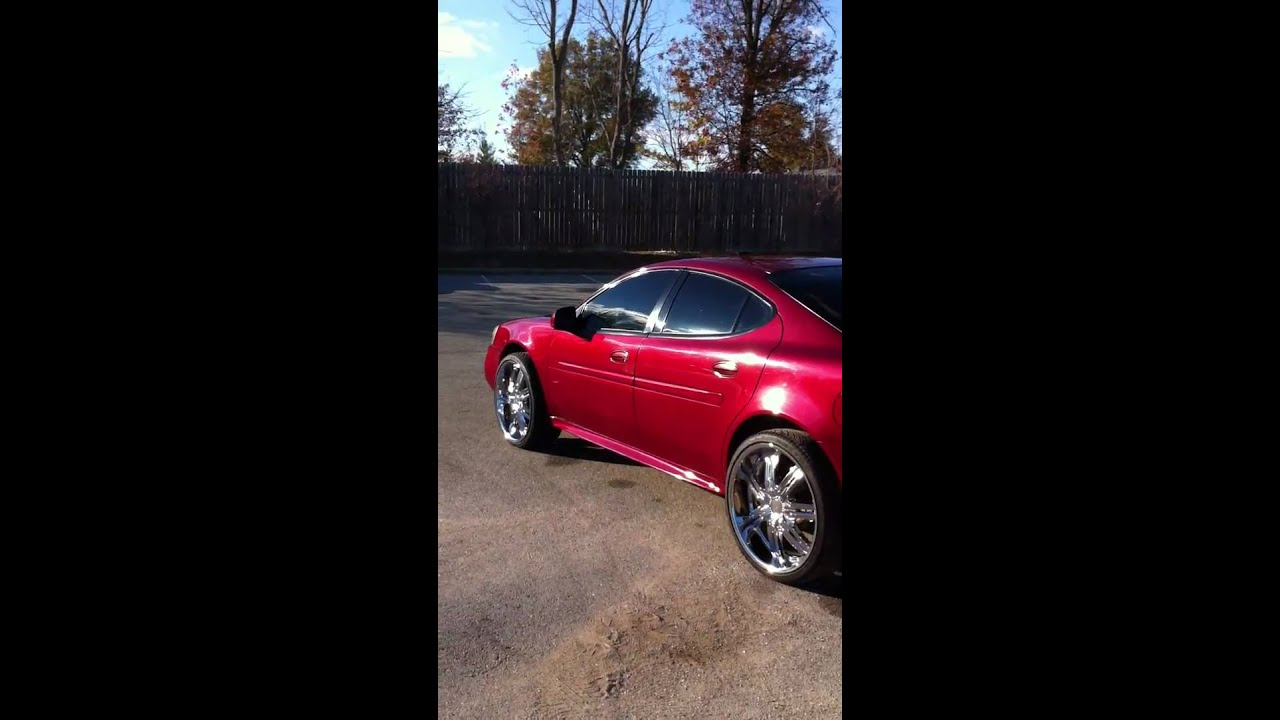 2004 pontiac grand prix on 22 39 s youtube. Black Bedroom Furniture Sets. Home Design Ideas
