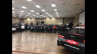 Get a 360-Degree View of RCR's Daytona 500 Champagne Toast & Victory Celebration