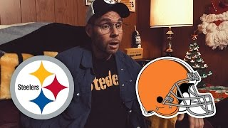 Dad Reacts to Steelers vs Browns (Week 17)
