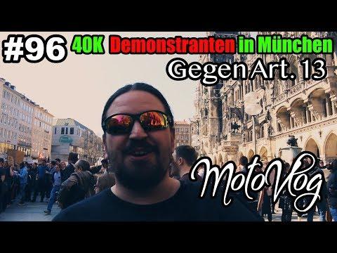 Mit den Bikes zur DEMO in München gegen Artikel 13