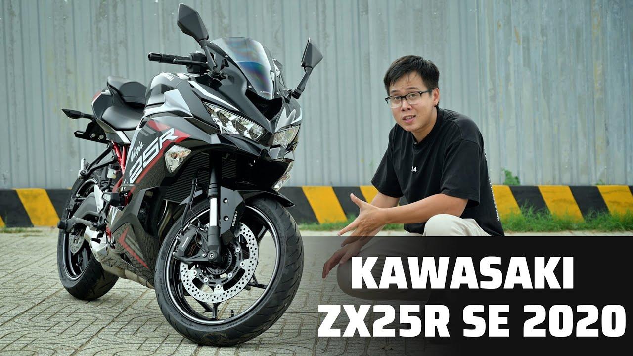 Trên tay Kawasaki Ninja ZX-25R SE | giá 189 triệu, nhiều công nghệ