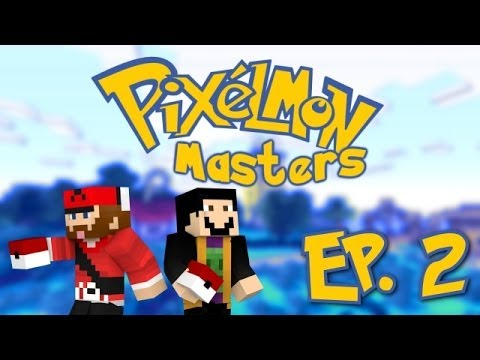 Minecraft: Pixelmon Masters! [Ep. 2] INFESTED POKEMON CENTER?!