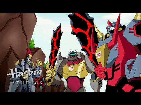 Transformers: Animated - The Dinobots Transform