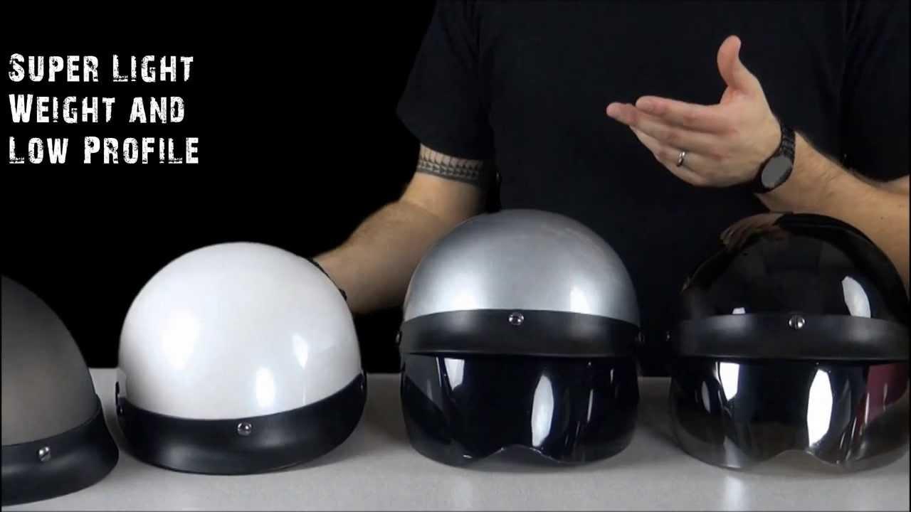 da89a7b3 HCI 100 Half Helmet Review - Jafrum.com - YouTube