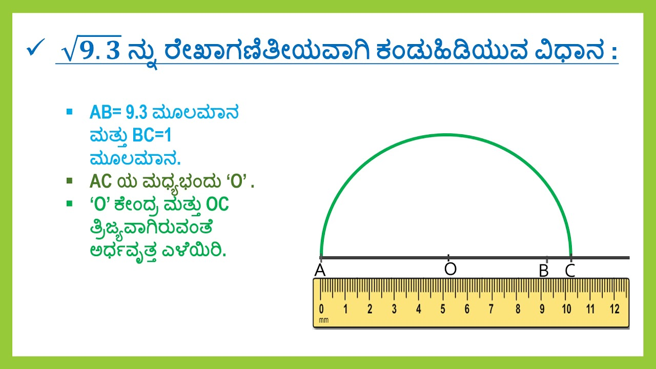 Mathematics kannada 9th std sqrt 93 youtube mathematics kannada 9th std sqrt 93 malvernweather Choice Image