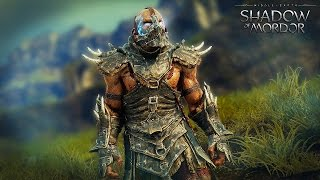 BANE The Super-Villain ! - Middle Earth Shadow Of Mordor Gameplay (PC)