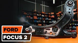 Cómo cambiar brazo de suspensión delantero en FORD FOCUS 2 INSTRUCCIÓN | AUTODOC