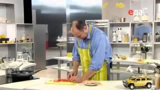 Жареная семга под кисло-сладким соусом маринад овощной рецепт от шеф-повара / Илья Лазерсон.