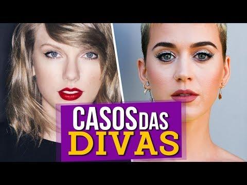 Casos das Divas  Taylor Swift e Katy Perry
